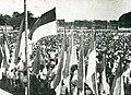 Youth congress in North Alun-Alun of Yogyakarta, Impressions of the Fight ... in Indonesia, p23.jpg
