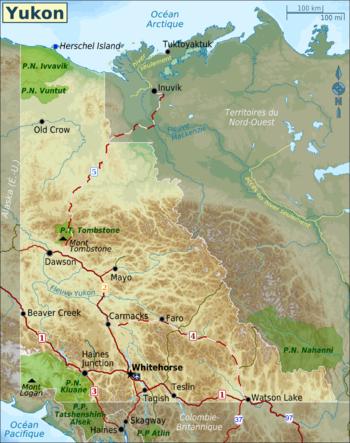 Yukon — Wikivoyage, le guide de voyage et de tourisme collaboratif