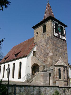 Zaberfeld - Image: Zaberfeld Evangelische Kirche 20070412
