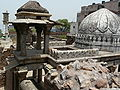 Zafar Mahal remains.jpg