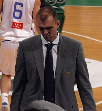 Žan Tabak - Tabak as an assistant coach of Real Madrid in 2008