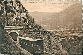 Image illustrative de l'article Tramway Pierrefitte – Cauterets – Luz