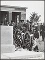 Zaterdagmiddag heeft de hertog van Gloucester te Groesbeek op het geallieerde mi, Bestanddeelnr 047-0690.jpg