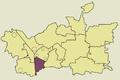 Zawiercie Centrum location map.png