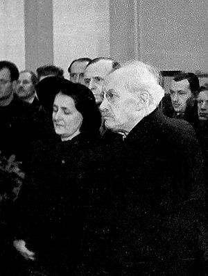 Zdeněk Nejedlý - Zdeněk Nejedlý in July, 1945.