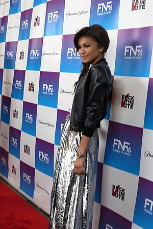 Zendaya at the 16th Annual Friends 'n' Family Pre-Grammy Event, February 8, 2013