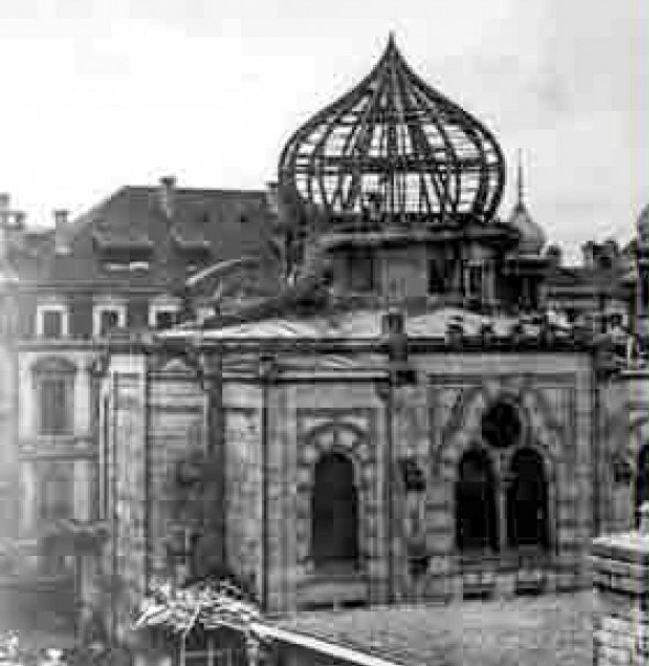 Zerstéierung vun der Stater Synagog-103