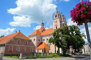 Sieraków - Image: ZespółKlasztorny