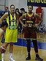 Zhosselina Maiga Fenerbahçe Women's Basketball vs BC Nadezhda Orenburg EuroLeague Women 20171011.jpg