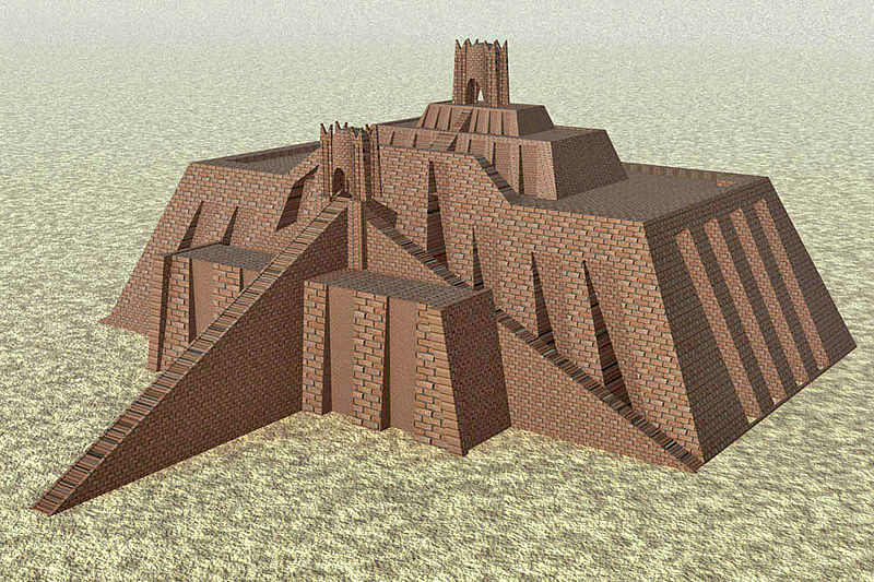 File:Ziggurat of ur.jpg