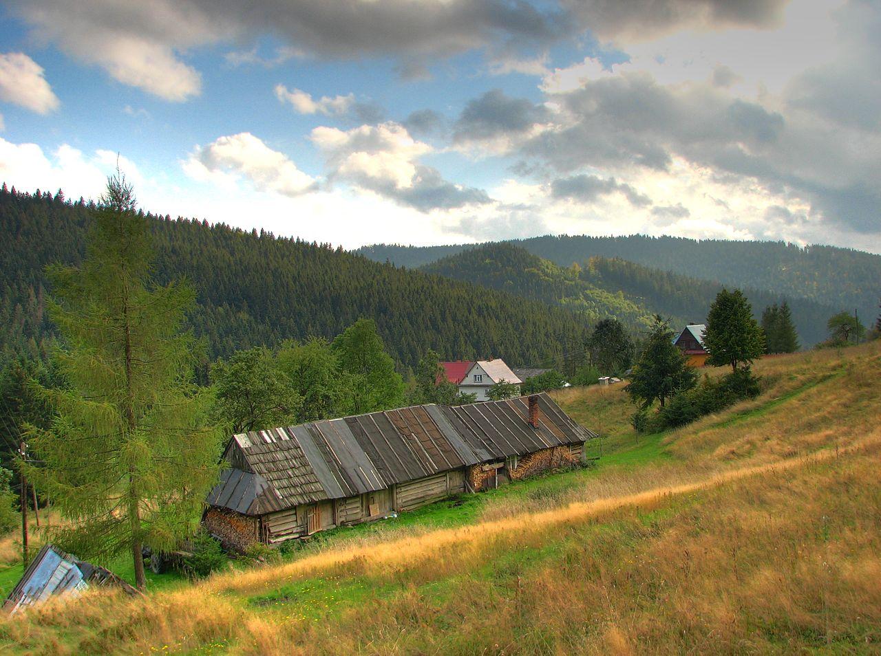 Szlak turystyczny – Złatna PKS – Lipowska