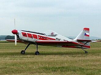 Zlín Z-50 - Zlín Z-50M