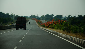 "National Highway 8B (India, old numbering) - Image: ""NH8b"" Gujarat Highway India 2012"
