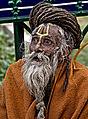 """Sadhu"", A Hindu Yogi, Bodhgaya Bihar India 2009.jpg"