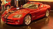2008 Dodge Viper from the Montreal Auto Show