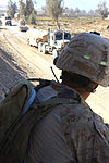 'Making a difference' pushes one Arizona Marine to excel on fourth deployment 111106-M-LU513-243.jpg