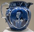 'Welcome Lafayette' pitcher by Joseph Stubbs, Staffordshire, England, c. 1820-50, Dayton Art Institute.JPG