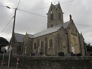 L'église Saint-Laurent.