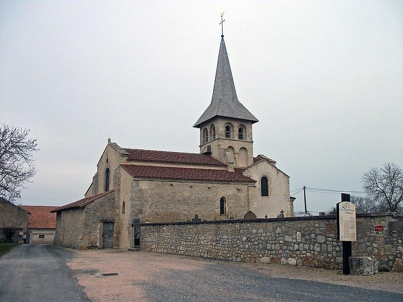Saint-Saturnin church in Mazerier, Allier [10525]