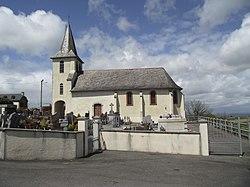 Église d'Hitte (Hautes-Pyrénées, France).JPG