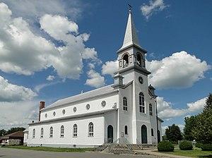 Charette, Quebec - Church Notre-Dame-des-Neiges