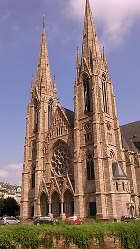 Image illustrative de l'article Église Saint-Paul de Strasbourg