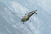 ÖBH AlouetteIII Landeck Abflug2