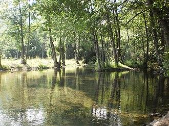 Šuica (river) - Image: Šujica River