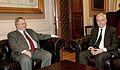 Συνάντηση Υπουργού Εξωτερικών Ν. Κοτζιά με τον Πρέσβη των Ηνωμένων Πολιτειών της Αμερικής, David Duane Pearce (16270017000).jpg