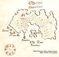 Χάρτης της Καλύμνου - Antonio Millo - 1582-1591.jpg