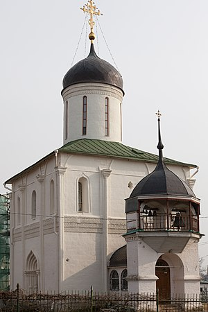 Zvenigorod - The Dormition Cathedral in the Kremlin was consecrated in 1399.