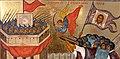Битва у Белого дома, 1993 год, деталь иконы Новорусская Богоматерь.jpg