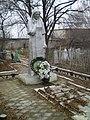 Братська могила радянських воїнів Південного фронту, скульптура.JPG
