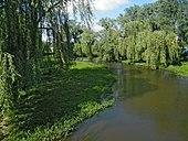 Дубно. Река Иква.