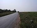 Ділянка великої проїжджої дороги в районі села Добропілля Добропільського району.jpg