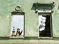 Колокольня Петропавловского собора (г. Казань) (вид с улицы Баумана) - 2.JPG
