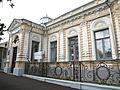 Металлическая ограда общий вид улица Дзержинского, 87, Ставрополь, Ставропольский край.JPG
