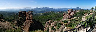 Belogradchik Rocks -  A view of the Belogradchik Rocks