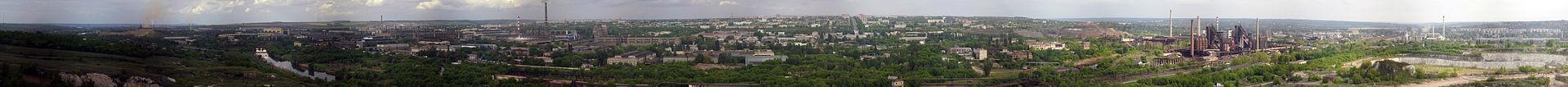 Панорама города Краматорск