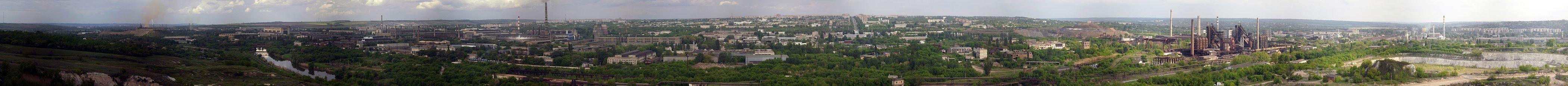 Панорама с Меловой горы