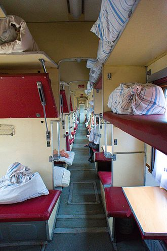Russian Railways - Platzkart carriages are to be phased out by 2025