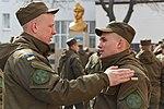 Президент України Петро Порошенко привітав молодих офіцерів з випуском 775 (16738387977).jpg