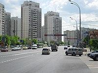 Пятницкое шоссе (в сторону центра Москвы).JPG