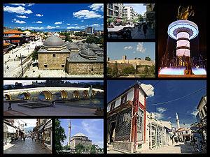 Скопље — колаж знаменитости