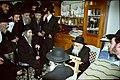 הרב אהרון יהודה לייב שטיינמן אצל הרב אלישיב.JPG