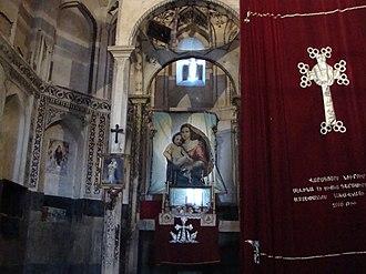 Saint Stepanos Monastery - Image: داخل کلیسا