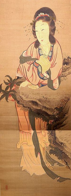 Queen Mother of the West - Seiobo, Japanese art.