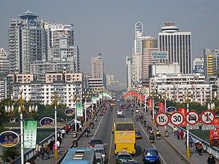 Chengzhong District, Liuzhou District in Guangxi, Peoples Republic of China