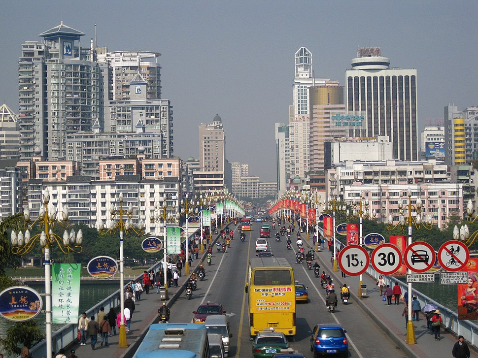 柳州一桥街景 - panoramio