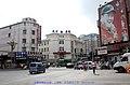 路口三个建筑都是新京建筑遗存,右边是刘老根大舞台(儿童电影院、朝日座) - panoramio.jpg